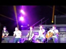 Big Time Rush singing Like Nobody's Around - Concord, CA