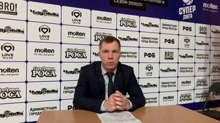 Тренер «Вологды-Чеваката» Евгений Соловьев: «Выиграли за счёт скорости».