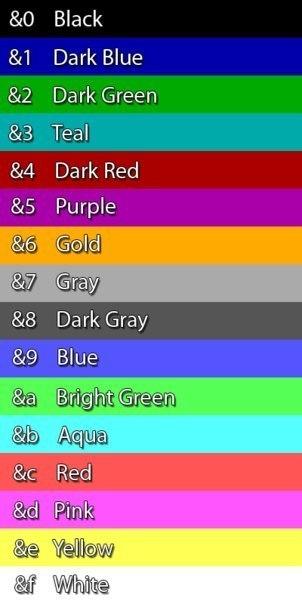 как сделать цветное название клана в майнкрафт 1.8 #5