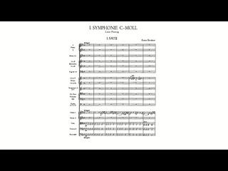 Bruckner: Symphony No. 1 in C minor, WAB 101 [Revised Linz version; 1877] (with Score)