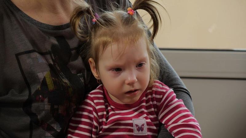 Територія добра Маленька Віка Попова з Одещини страждає на ДЦП Їй дуже потрібна наша підтримка