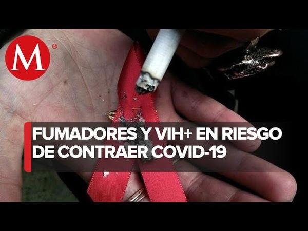 Personas con VIH y cáncer entre sectores en riesgo ante covid 19