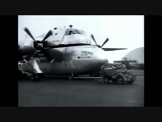 Fairchild XC 120 Packplane - The First Trailer Truck of the Skies