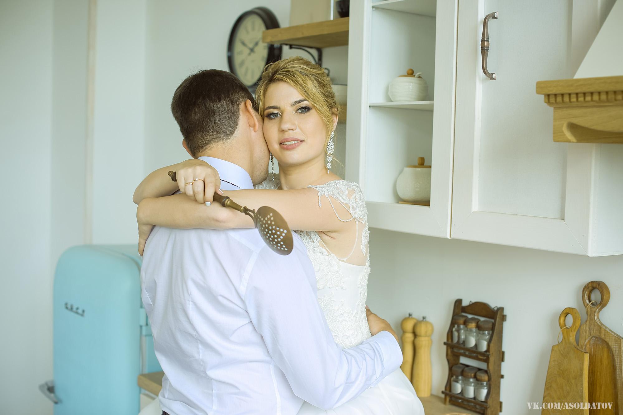 Студийная свадебная фотосессия в Пензе.