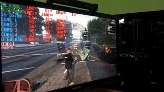 Тест в играх (i5 3570K, R9 270X, 8Gb DDR3 (GTA V, WD 2, Ведьмак 3, AC Origins, Far Cry 5, BF1, CSGO)
