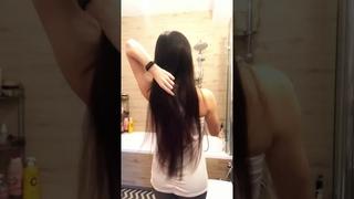 Как подстричь секущиеся кончики волос ровно, самому в домашних условиях. ЛЕГКО И БЫСТРО!