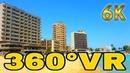 360° VR Varosha Ghost City Walk Tour Travel Famagusta Visit North Cyprus 6K 3D Virtual Reality HD 4K