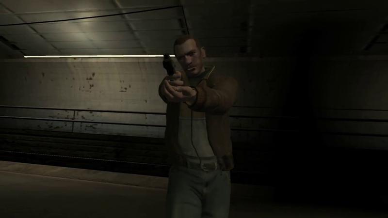 GTA IV Миссия Tunnel of Death Derrick McReary Нико Профессионал