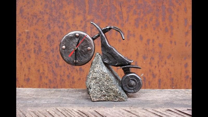Blacksmithing. Motorcycle. Мотоцикл своими руками. Художественная ковка