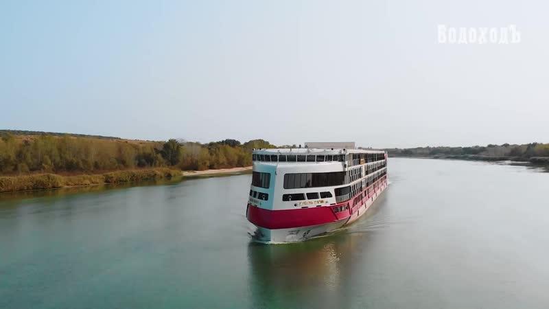 Теплоход Мустай Карим Круиз по Азовскому морю