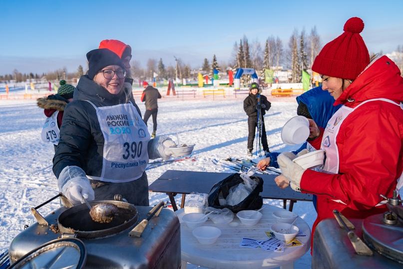 Лыжня России 2020: спортивная Ухта не боится морозов, изображение №5
