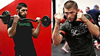 "Khabib ""The Eagle"" Nurmagomedov Training For UFC 242"
