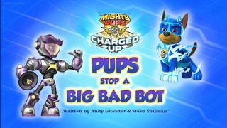 PAW Patrol: Mighty Pups, Charged Up: Pups Stop A Big Bad Bot/ Pups Vs The Dome