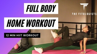 12 MINUTE FULL BODY WORKOUT | NO REPEAT | HOME WORKOUT