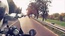 Орлы Свободы на мотопробеге Свеча памяти