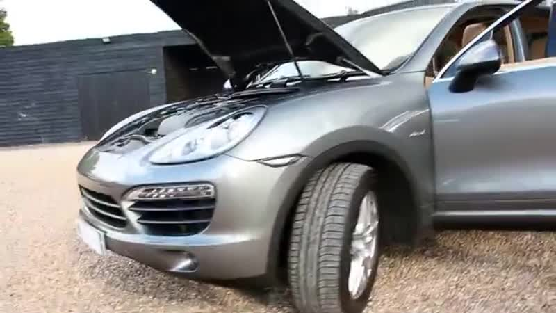 Porsche Cayenne D 4 2 V8 S Turbo Tiptronic S Automatic in Meteor Grey