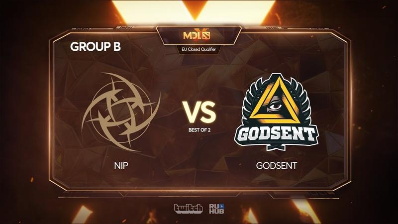 Ninjas in Pyjamas vs Godsent, MDL Chengdu Major Qualifier, bo2, game 2 [4ce]