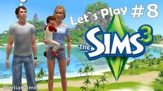 Let's play The Sims 3 / Семейка Хинсон # 8 - Поиски друзей