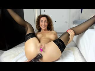 hot MILF with big dildo in ass ANAL [ПОРНО, СЕКС, АНАЛ, МИНЕТ, ДОМАШНЕЕ, PORN, SEX, TEEN, ANAL]