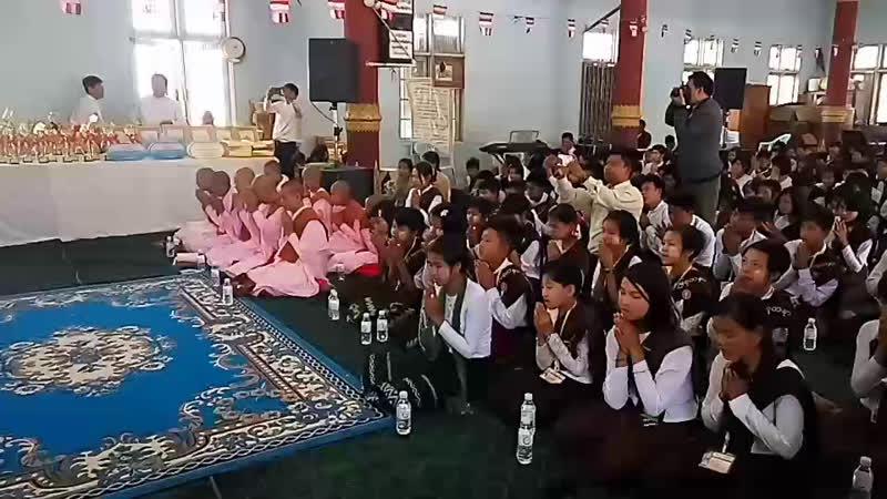 အမ်ိဳးဘာသာသာသနာ ေစာင့္ေ႐ွာက္ေရးအဖြဲ႔ မဘသ အထက္ျမန္မာျပည္ ႀကီးမွဴးက်င္းပေသာ ဗုဒၶဘာသာယဥ္ေက်းမႉစာေမးပြဲ