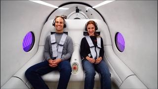 First Hyperloop Passenger Test