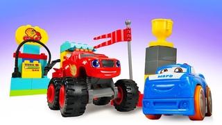 Novo vídeo sobre carrinho de brinquedo. Vamos descobrir o novo campeão e o que os carros comem!