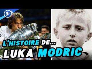 Le fabuleux destin de Luka Modric, l'enfant réfugié devenu petit prince du Real Madrid