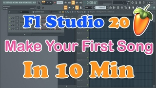 FL Studio 20 - Make Your First Song In 10 Min ( Disco Music )
