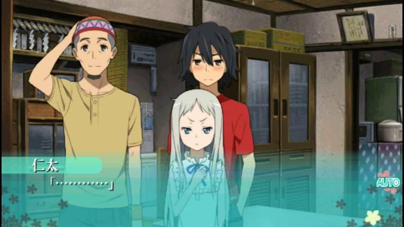 あの日見た花の名前を僕達はまだ知らない Ano Hi Mita Hana no Namae o Bokutachi wa Mada Shiranai PSP FULL