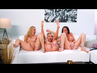 Aaliyah Love, Emma Hix and Silvia Saige
