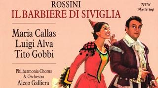 Rossini - Il Barbiere Di Siviglia, Largo al factotum, Synopsis (Maria Callas,Alva,Gobbi - .)