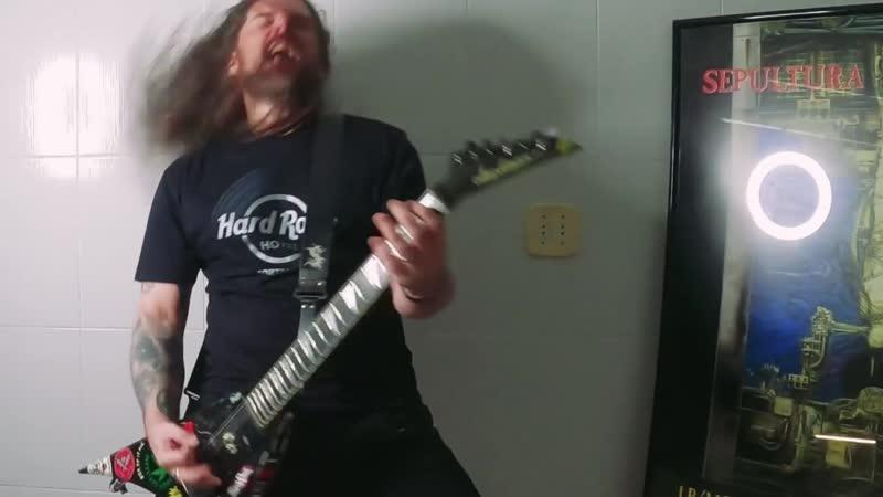 Sepultura 'Territory' feat David Ellefson Megadeth Metal Allegiance Full HD