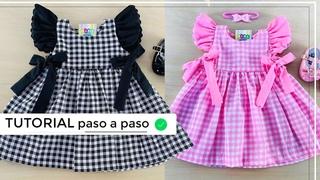 DIY Como hacer vestidos para niñas hermoso