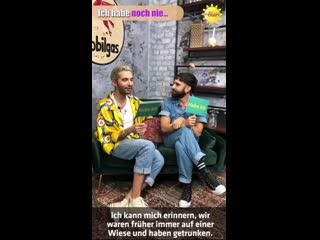 Sat 1 - Frhstcksfernsehen: Habe Ich vs Habe Ich Nicht with Bill Kaulitz and Conchita Wurst -