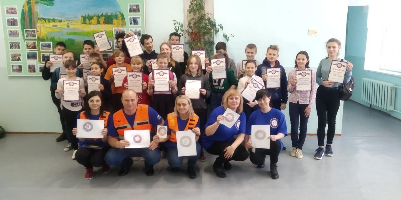 Школы детской безопасности в школах №16 и №14 г. Арзамас.