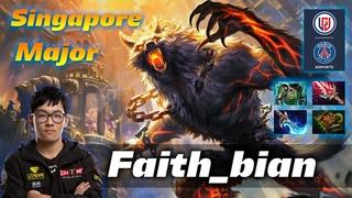 Faith_bian Lycan -  vs Team Secret - Dota 2 The Singapore Major