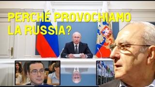 Perché l'Italia provoca la Russia e non difende i suoi interessi? - Intervista  a Antonio De Martini