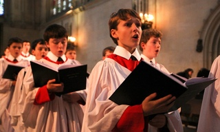 Choir of Kings College Cambridge - Long May She Reign - Purcell