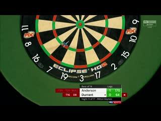 Gary Anderson vs Glen Durrant (PDC Premier League Darts 2020 / Week 11)