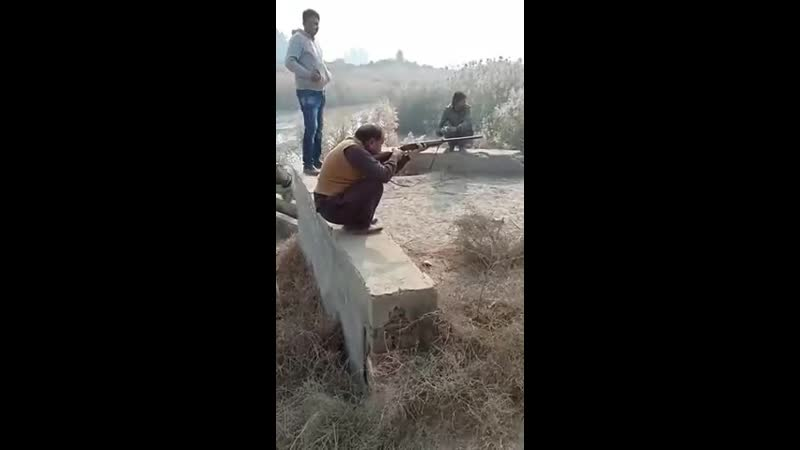 Выстрел, который сшибает с ног.
