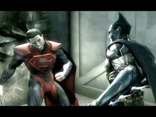 Бэтмен vs Супермена! Финал! Кто победит? Injustice Gods Among Us