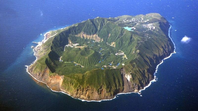 Аогашима каково это жить на вулкане Самый необычный и изолированный остров Японии
