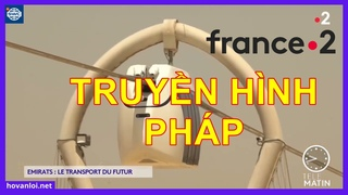 """Kênh truyền hình của PHÁP """"France 2"""" đã đưa tin về uSky Transport    Tiếng Việt"""