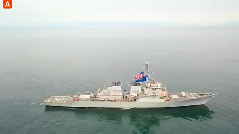 Провокация на Дальнем Востоке Адмирал Виноградов жестко проучил американцев и з