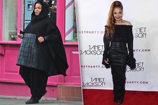 51-летняя Джанет Джексон за 9 месяцев -50 кг.