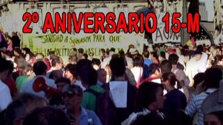 """""""Segundo aniversario del 15-M"""" """"Movimiento popular 15-M"""" """"Movimientos contra la corrupción"""" """"15-M"""""""