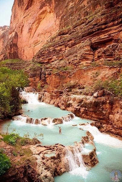 Водопады Хавасу, Аризона