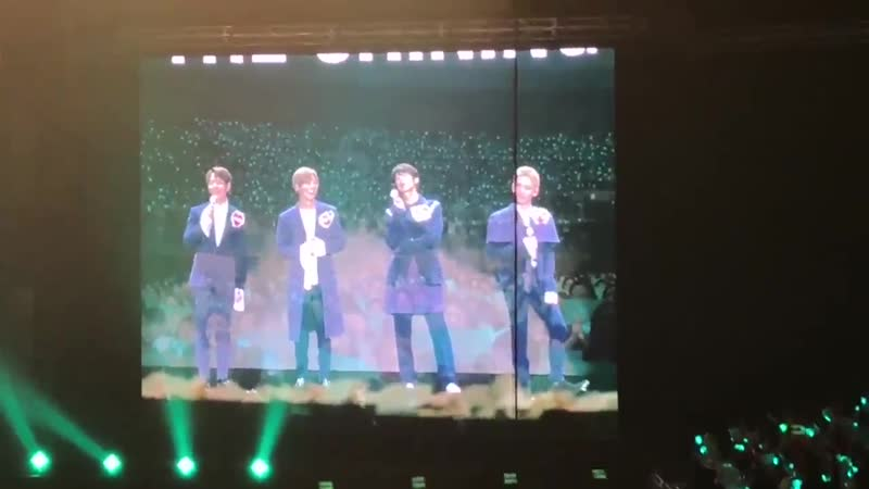 поют шаволы 2 180902 SHINee SPECIAL PARTY -THE SHINING