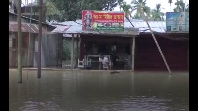 1495 Индия Дождь Штат Трипура 17 мая 2018