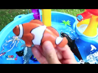 Sea Animals Toys - Learn Ocean Animals Names - Sea Animal Videos for Kids